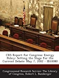Crs Report for Congress, Robert L. Bamberger, 1293247189