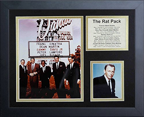 Legends Never Die The Rat Pack Framed Photo Collage, 11 by 14-Inch