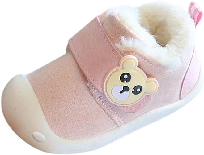 Zapatos Bebe Niña Recien Nacida Invierno K-youth Lindo Zapatillas ...