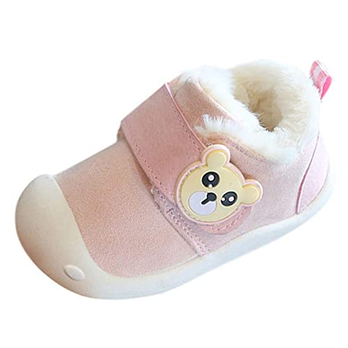 Zapatos Bebe Niña Recien Nacida Invierno K-youth Lindo Zapatillas de Algodón para Infantil Zapatos Bebe Niño Primeros Pasos Zapatillas de Deporte Niños ...
