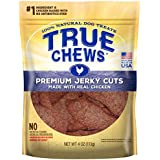 True Chews Premium Jerky Cuts Dog Treats, Made with Real Chicken, 4 oz