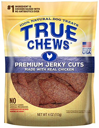 True Chews Premium Jerky Cuts Made with Real Chicken 4 oz