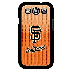 Samsung Galaxy S3 Case Artwork MLB San Francisco Giants Baseball Team Logo Sports Design Hard Plastic Unique Protection Accessories Case Cover for Men