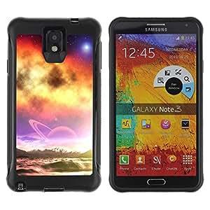 LASTONE PHONE CASE / Suave Silicona Caso Carcasa de Caucho Funda para Samsung Note 3 / Nature Fantasy Galaxy