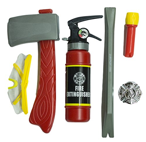 Little Firefighter 6 Piece Costume Accessory Kit for $<!--$8.81-->