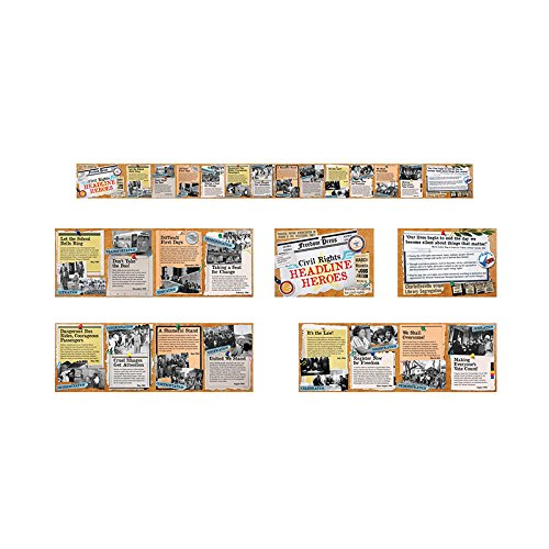 North Star Teacher Resource Civil Rights Headline Heroes Time Link Learning Aid (Right Link)