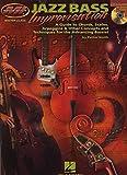 Mi Jazz Bass Improvisation Bass Guitar Bgtr BK/CD (Muscians Institute Msster Class)