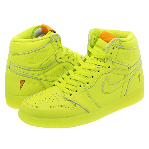 [ナイキ] NIKE AIR JORDAN 1 RETRO HIGH OG G8RD CYBER/CYBER 【GATORADE】 【LIKE MIKE】 [並行輸入品] B07B4C29PC