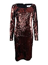 Women's Sequined Sheath Dress