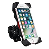 SENREAL Motorcycle Holder Bike Bicycle Handlebar Mount Mobile Phone Stand for 4.5-7 inches Phone
