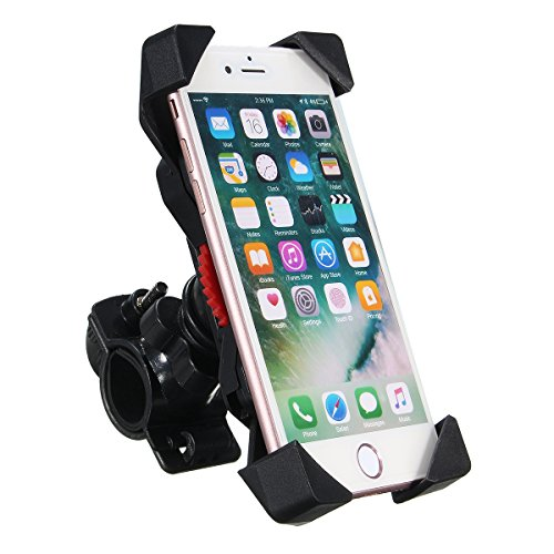 SENREAL Motorcycle Holder Bike Bicycle Handlebar Mount Mobile Phone Stand for 4.5-7 inches Phone by SENREAL