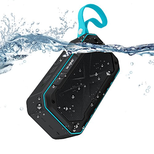 Waterproof Bluetooth Speaker, ELEGIANT Wireless Portable Speaker Bluetooth 4.2V IPX 7 HD Audio and Enhanced Bass Shockproof Speaker with Mic&FM Radio(12 Hrs)for iPhone Shower Outdoors Bike