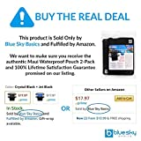 blue sky BASICS Waterproof Pouch with Waist Strap (2 Pack)...
