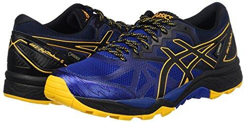 Gel Or Bleu Pour Homme fujitrabuco D'entranement Fusion G 6 limoges Asics Noir tx Chaussures TqSERR