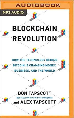 Die Blockchain-Revolution-Wie die Technologie hinter Bitcoin nicht nur das Finanzsystem, sondern die