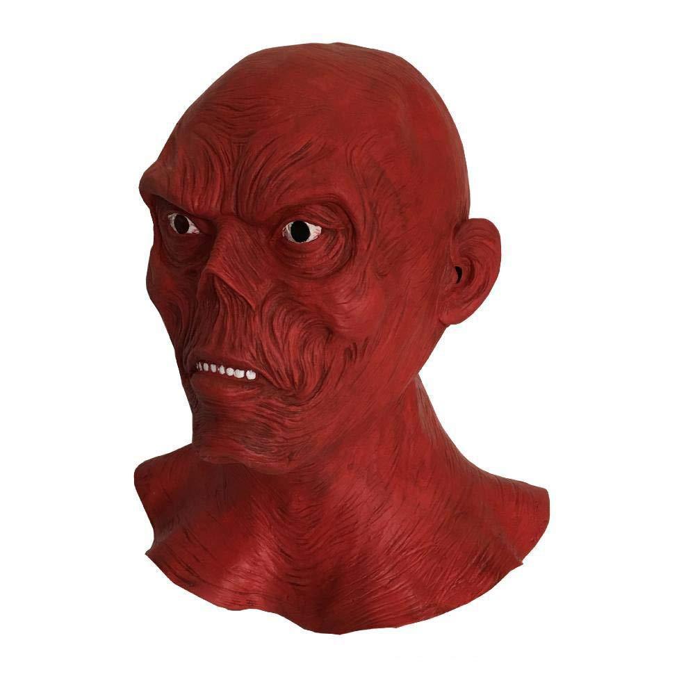 compras en linea XINXI Home Scary Scary Scary Face Zombie Mask Halloween Christmas máscara de látex Peluca  Envio gratis en todas las ordenes