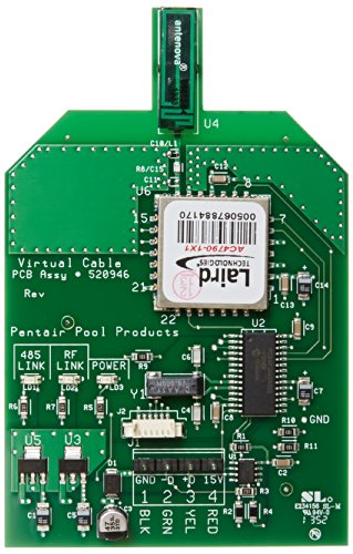 Pentair 520946Z MobileTouch II Tranciever Circuit Board With Attached Antenna