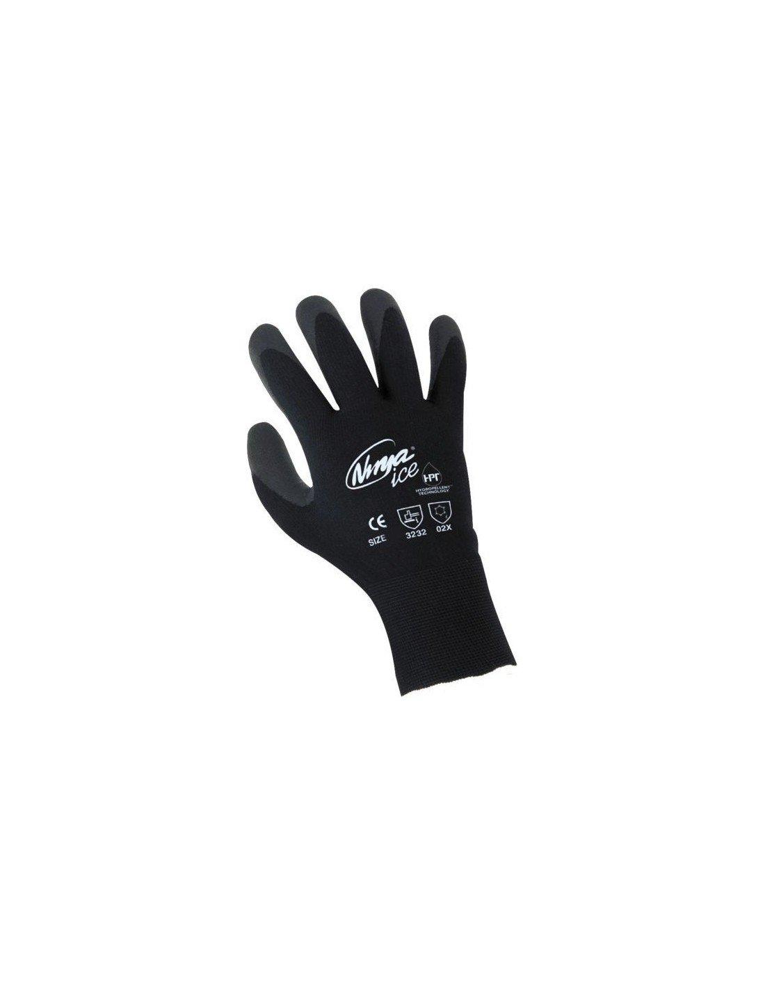Lote de 5 pares de guantes Ninja Ice. Guante especial frío ...