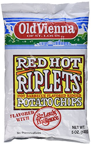 Red Potato (Old Vienna Red Hot Riplets Hot Barbecue Flavored Potato Chips 5.0 Oz)