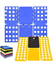 Clothes Folder Board, 2Pcs T-Shirt Clothes Folder Adjustable Clothes Folding Laundry Organizer Dress Pants Towels Folder for Kid and Adult to Fold Clothes