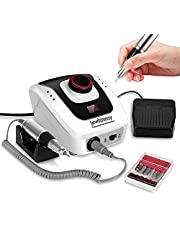 35000 rpm Professional Nail Drill Machine, Portable Electric Efile Drill for Shaping, Buffing, Removing Acrylic Nails, Gel Nails Manicure Pedicure Kit