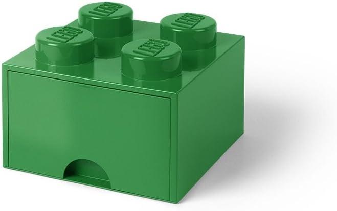 Lego Brick Drawer 4 Dark Green