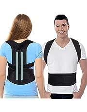 SYOSIN Haltungskorrektur, Geradehalter zur Haltungstrainer Rückentrainer Schulter Rücken Rückenstütze Corrector Posture für Damen Herren und Kinder