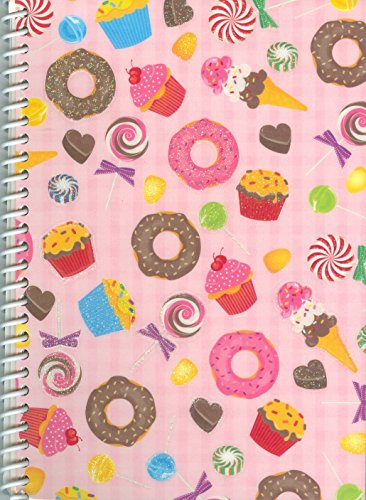 "Cupcakes and Candy Sticker Collecting Album 5 x 7"", Re-usabl"