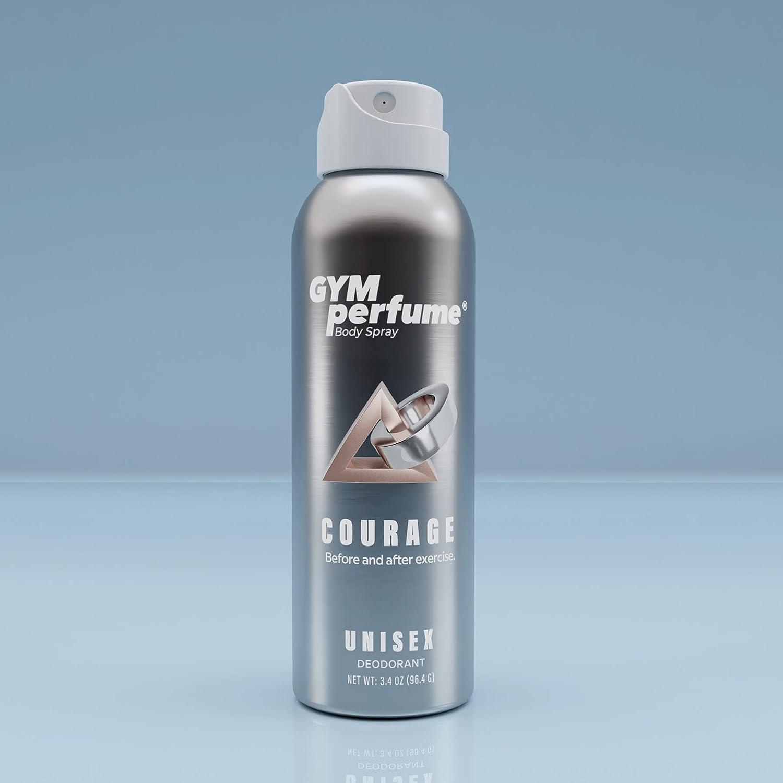 Fitness Body Spray   Aluminum-Free Deodorant   Ultra-Lasting Formula   Powerful Odor Eliminator Technology   Top Designer's Fragrance For Men And Women   Made In USA   Travel Size 3.4 Oz / 100 ml.