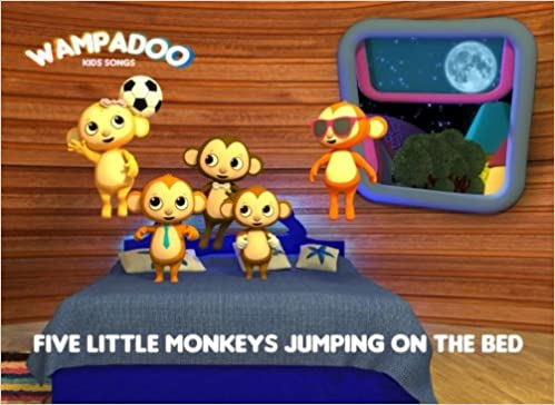 Five Little Monkeys Jumping On The Bed Book