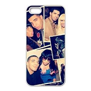 Custom Hard Protective Cover Case for Iphone 5,5S Phone Case - Drake HX-MI-061555
