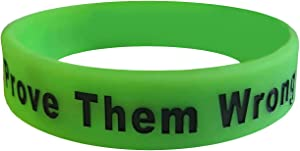We Keep You Motivated Motivational Wristbands and Baller Bands with Inspirational Messages (Worn by TOP PRO Athletes) Great for Gym, Workouts, Fitness, Sports and Life Motivation Silicone Rubber