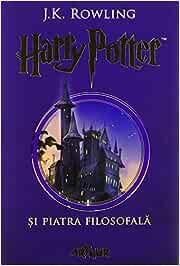 Rowling, J: Harry Potter Si Piatra Filosofala Romanian: Amazon ...