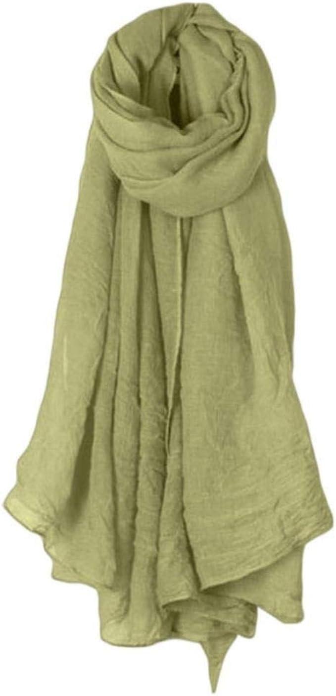 eaodz 16 colores mujeres bufanda larga abrigo bufandas vintage ...