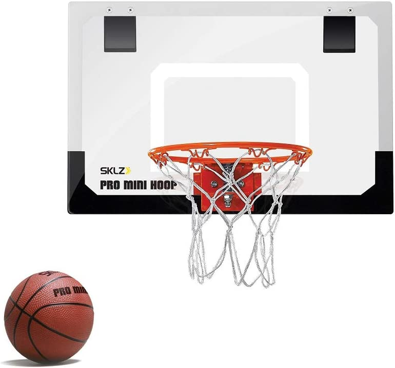 SKLZ Pro Mini Basketball Hoop with Ball, Standard (18 x 12 inches) : Toy Basketball Products : Sports & Outdoors