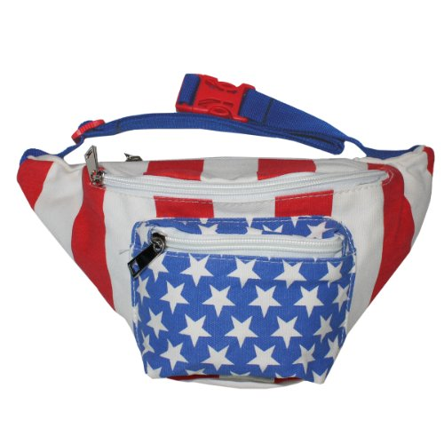 Price comparison product image X80 American Flag Fanny Pack