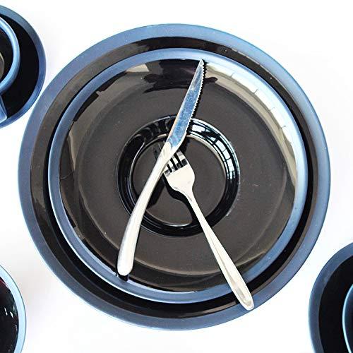 Diameter 30.5cm Taihang Plateau de paille rond en céramique Creative hôtel repas maison plateau de pÂtes steak plaque vaisselle en céramique (Taille   Diameter 30.5cm)