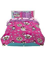 Franco Kids Bedding Super Soft Comforter and Sheet Set with Sham, 7 Piece Full Size, LOL Surprise