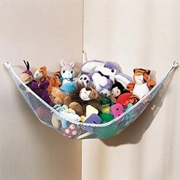 Peluche y juguetes Organizador Hamaca Pet Net, White Net y Recorte