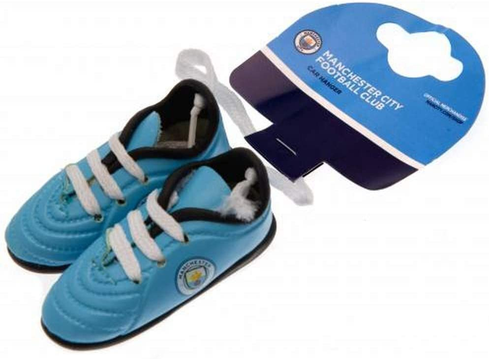 Manchester City FC Football Club Hanging Car Window Mini Blue Boots Official Product
