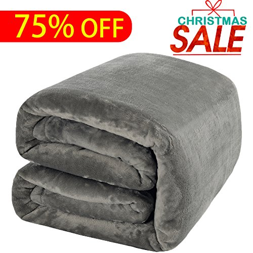 Luxury Fleece Blanket by Shilucheng Super Soft and Warm Fuzzy Plush Lightweight Throw Couch Bed Blankets mini size 43