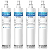 Waterdrop 4396508 Replacement Refrigerator Water Filter, Compatible with Whirlpool 4396508, 4396510, Kenmore 46-9010, EveryDrop Filter 5, NLC240V, EDR5RXD1, PUR W10186668, Standard , 4 Pack