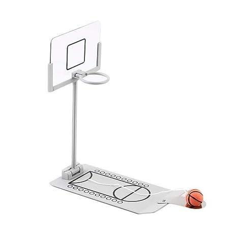 Escritorio Miniatura Baloncesto Shooting Set Juegos, Base Mesa ...