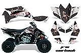 06 ltr 450 parts - AMR Racing Graphics Kit for ATV Suzuki LTR 450 2006-2009 P40 WARHAWK BLACK