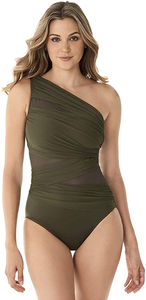 Miraclesuit Womens Chain Reaction JENA One-Piece