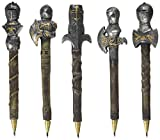 Design Toscano Knights of the Realm: Battle Armor Pen C, Set of 5