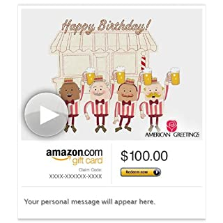 Amazon Gift Card - E-mail - Quartet Birthday Telegram (Animated) [American Greetings] (B00BWDGZ8K) | Amazon price tracker / tracking, Amazon price history charts, Amazon price watches, Amazon price drop alerts