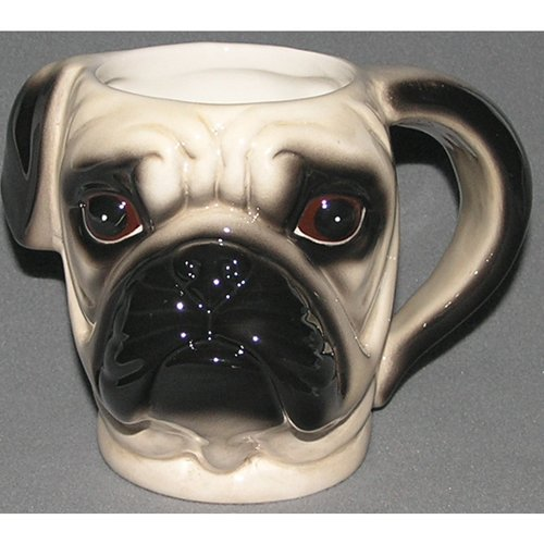3D STYLE ANIMALS Hand-painted Cup Coffee Tea Mugs Dog Animal Ceramic Cup 02
