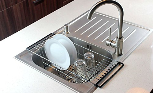 Over Kitchen Drainer Durable Chrome plated