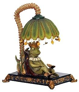 Sterling Home 91-740 Sleeping King Frog Table Lamp - Indoor ...